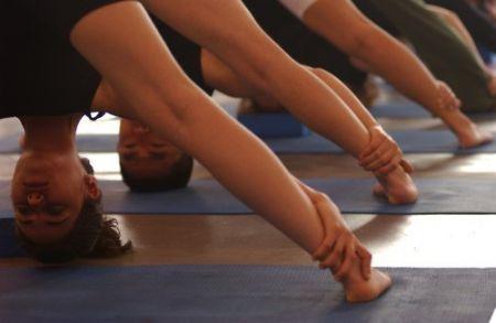 Cours de yoga et ateliers  de yoga en entreprises à Nantes.